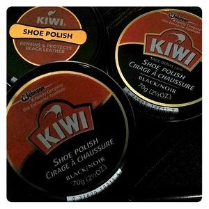 3-Pack KIWI Shoe Polish Paste, Black Large 2.5-oz